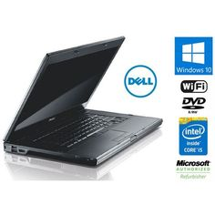 "Dell Latitude E6510 Laptop with 15"" HD Display, Intel Core i5 2.4Ghz, 4GB DDR3 RAM, 160GB Hard Drive, DVDRW, Windows 10 Home"