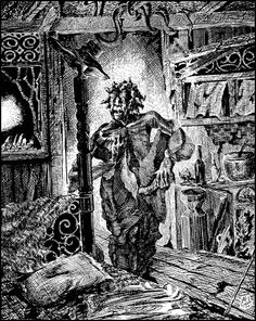 The soucouyant is a vampire like creature from Dominica, Trinidadian and Guadeloupean folklore who takes the form of an old woman during the day. At night she strips off her skin, places it into a mortar and flies into the night in the form of a small fire ball. In this form she is able to enter houses through cracks and keyholes to feed from people as they sleep. If a soucouyant drains the victim completely they will either die, and the soucouyant steals their Skin...