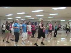 Zumba Gone Country - Sugarland - Sadly out of all the videos of country Zumba I watched, this is the best...