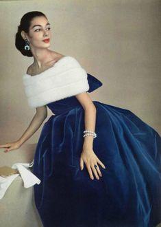 ♔ Jacques Fath ~ French fashion designer ~ 1956