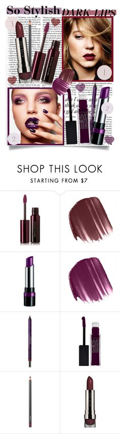 """""""So Stylish: Statement Lips."""" by shiningstars17 ❤ liked on Polyvore featuring beauty, Victoria Beckham, Kevyn Aucoin, LORAC, Rimmel, Smashbox, By Terry, Maybelline, MAC Cosmetics and statementlip"""