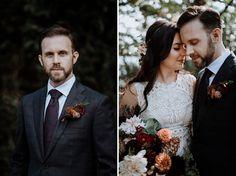 Gab + Mark's Moody, Boho Chic Autumn Wedding | With Love & Embers Photography