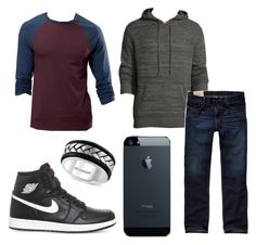 """""""Mack Henry"""" by aarabbit44 on Polyvore featuring ASOS, Effy Jewelry, NIKE, Neiman Marcus, Hollister Co., men's fashion and menswear"""