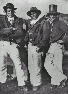 group of 19th century sailors