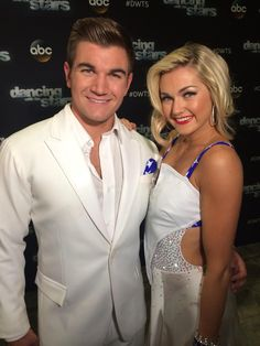 On Monday, @alekscarlatos & @lindsayarnold will dance to theme from #TrueBlood for #DWTS TV theme song night.