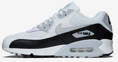 Nike Air Max 90 White Black Special Design Hot Fashion Women Shoes #Nike #RunningCrossTraining