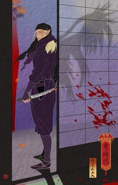 Dragon Age Ukiyo-e Character Fan Art - Created by Dakkun39Follow the artist on Tumblr!