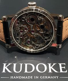 #kudoke #blackbeauty #watch #watches #uhr #uhren #handmade #handgravur #handgraved #hautehorolgy #skeleton #handmadewatch #watchpix #hamburg #bergedorf #jeankoch