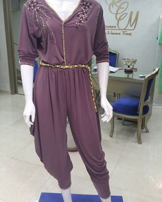 Combinaison #haute couture #perles #shwarovski #noir #doree #casa #haut gamme #marrakech2016 #luxury #luxe #morrocanstyle