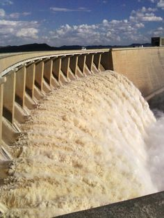 Gariep dam. South Africa.