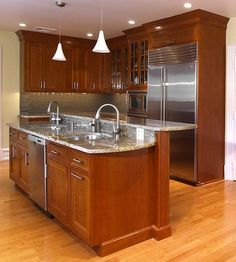 Urban Kitchen Design Ideas, Pictures, Remodel And Decor   I Like The Rich  Warm Wood Tones. This Is By Ferrarini Kitchen U0026 Bath In PA