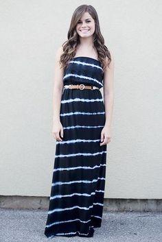 Karen Maxi Dress, Black