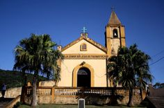 Paranapiacaba, distrito de Santo André (SP) - igreja matriz Senhor Bom Jesus de Paranapiacaba