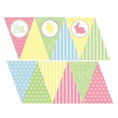 Free Printable Easter Banner http://itsybelle.blogspot.com/2011/03/free-printable-springeaster-banner.html