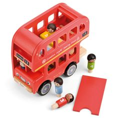 Bernie's Number Bus - Wooden Toys - Toys & Gifts - gltc.co.uk