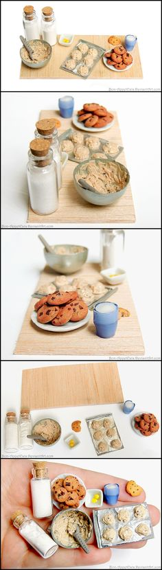 Chocolate Chip Cookie Prep Board by Bon-AppetEats.deviantart.com