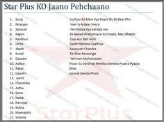 Paper Party Games : Star Plus Ko Jaano Pehchano