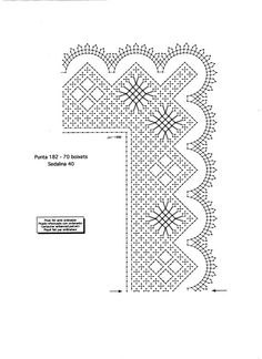 Bobbin Lace Patterns, Hand Embroidery Patterns, Lace Art, Borders And Frames, Tatting Lace, Needle Lace, Lace Making, Thread Crochet, Textile Art