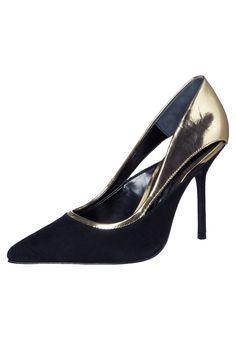 Buffalo - Escarpins - noir Buffalo, Kitten Heels, Shoes, Style, Fashion, Heels, Hipster Stuff, Black Pumps Shoes, Shoe