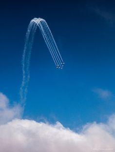 The Breitling jet team, via Flickr.