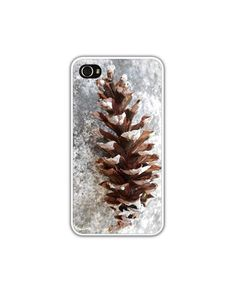 iPhone 4/4s 5 Snowy Winter iPhone Cases First by LovesParisStudio, $30.00