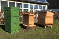De tre typer stader jeg har bier boende i.