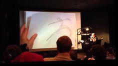 Glen Keane Dancer Animation on Two's