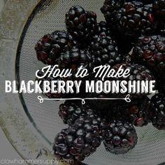 Blackberry moonshine.