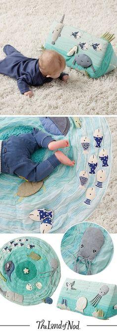 Baby Boy Activity Floor Mat