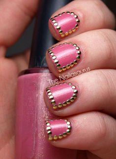 + 170 UÑAS DECORADAS ROSA   Decoración de Uñas - Nail Art - Uñas decoradas