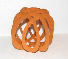 Lattice Tealight Pumpkin