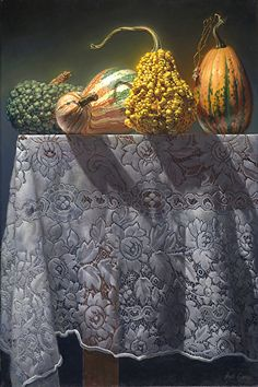 Hans Guerin is raising funds for Still-Life Painting Competition at the Grand Central Atelier on Kickstarter! A trip to Manhattan to compete in an exclusive, 6 day competition of Still-Life Painting at the Grand Central Atelier. Hyper Realistic Paintings, Realistic Drawings, Still Life 2, Classical Realism, Painting Competition, Art Themes, Art For Art Sake, Gourds, Pumpkins