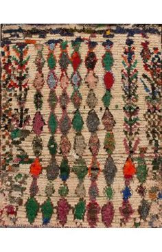 Moroccan Amaynu Berber Tan Rug | Contemporary Rugs