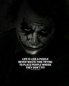 1556 best joker quotes images in 2019 Dark Quotes, Wisdom Quotes, Me Quotes, Motivational Quotes, Inspirational Quotes, Psycho Quotes, Meaningful Quotes, Joker Qoutes, Best Joker Quotes