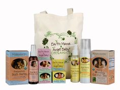 Earth Mama Angel Baby Organics Birth & Baby Kit - full size. So excited to get this!