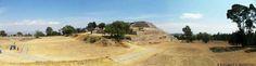 panorámica de la zona arqueológica de Xochitecatl Tlaxcala, foto de fotografía libre de estilos
