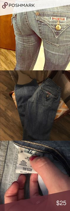 Hudson jeans These are in great condition and are wide leg at the bottom Hudson Jeans Jeans