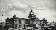 Barnet's design for a combined Art Gallery, Museum and Library in 1874, Sydney