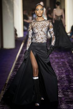 Cool Chic Style Fashion: Haute Couture | Atelier Versace Fall-Winter 2014-2015 Haute Couture Collection.
