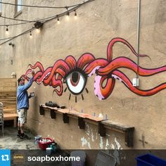 #Repost from soapboxhome awesome! @MohawkGroup would love this #neocon13 #neoconography #streetart instagram.com/p/ZtC44Yq1vZ/ - @GreenOwlStudio