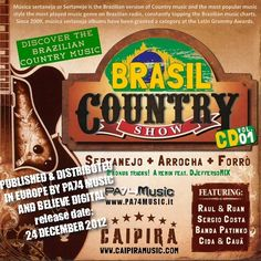 Brasil Country Show vlo.01 compilation - release date 24 december 2012
