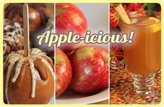 """""""Apples, Apples, Apples"""" ~ Includes, """"Hot Spiced Cider Drink Mix"""", with printable recipe card."""