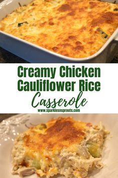 Creamy Chicken Cauli