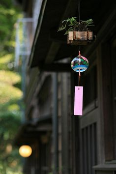 "Feel the summer atmosphere!- 夏の風情を感じよう!日本の自然の風景に溶け込む「風鈴… Feel the summer atmosphere! Rediscover the goodness of ""wind chimes"" that blend into the natural scenery of Japan! Japanese Style, Japanese Art, Japanese Wind Chimes, Amitabha Buddha, Japon Tokyo, We Are The World, Nihon, Japanese Culture, Photos"