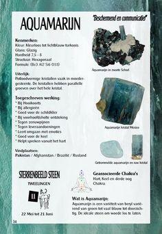 Aquamarijn- uitleg en werking - Gaia zilveren sieraden
