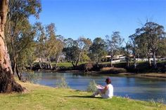 The great Edward River. #big4deniliquin #big4holidayparks #visitnsw