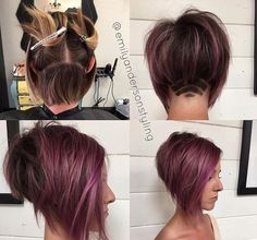 Schau Dir diese 10 coolen Frisuren mit einem Undercut an! - Neue Frisur