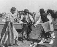 Grupo de gauchos, Argentina