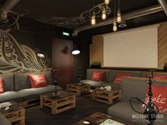 Industrial Bars & Clubs von Мастерская дизайна Welcome Studio