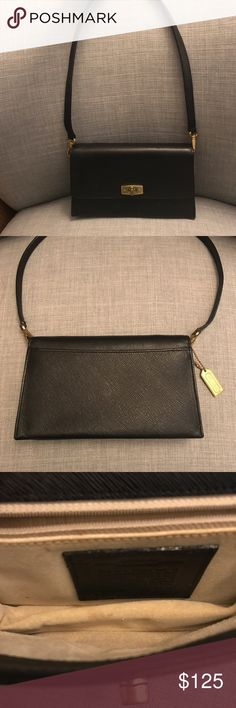 d9005d1aa8b COACH black shoulder bag Great condition on the exterior